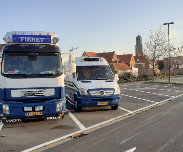 Vishandel Fieret Sluis markt België