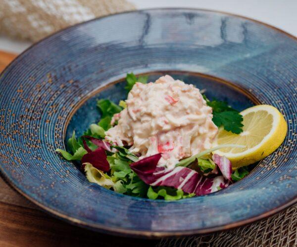 Fieret's vishandel salades en snacks surimisalade