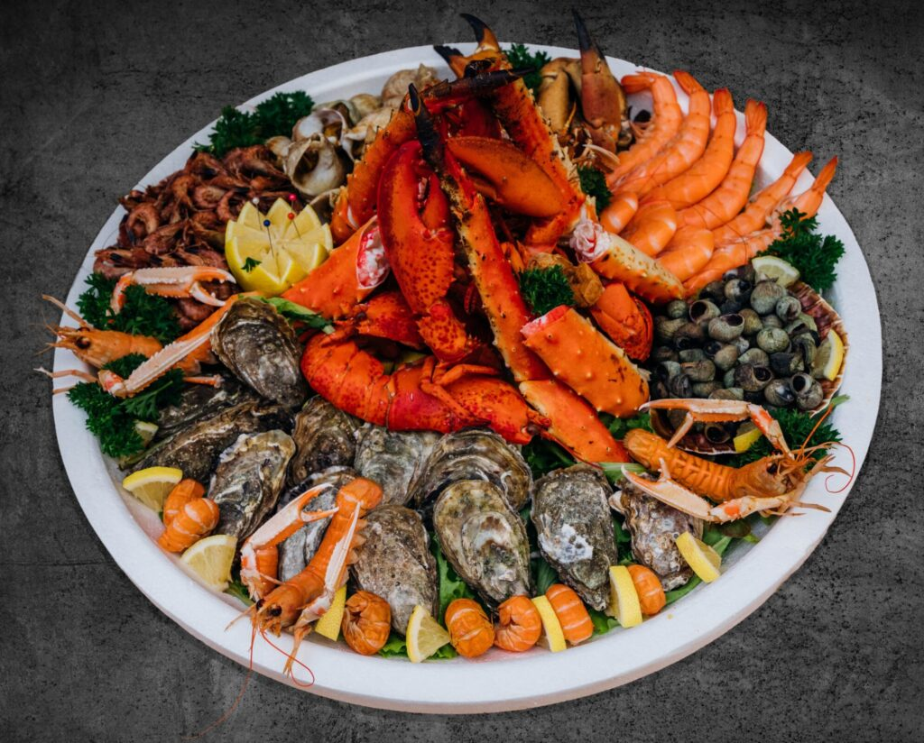Fieret's vishandel visschotels bestellen fruit de mer