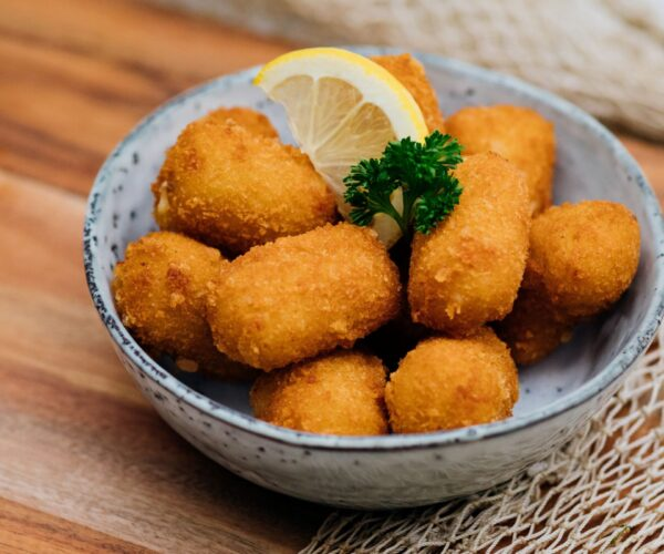 Fieret's vishandel salades en snacks garnalen krokettjes