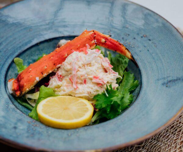 Fieret's vishandel salades en snacks krabsalade