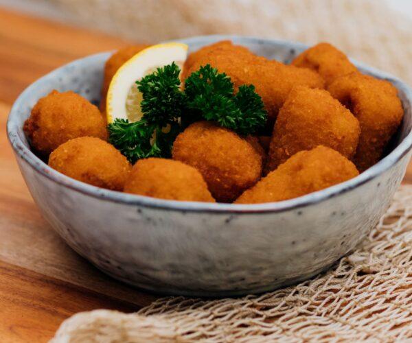 Fieret's vishandel salades en snacks kreeftenkroketten