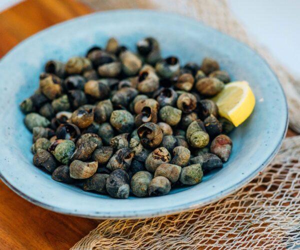 Fieret's vishandel gekookte kreukels